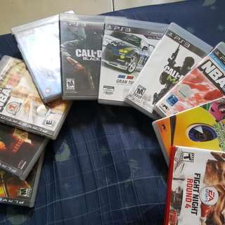 Preloved Ps3 Games :)