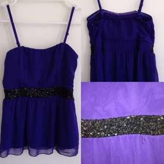 Purple Ally Top