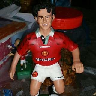 Man Utd Ryan Giggs 9 inch Figurine