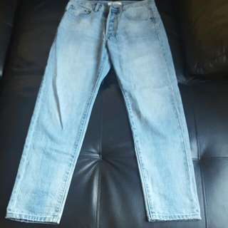 Jeans - Light Blue Straight Leg