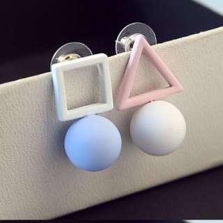 Geometric Earrings (Selling By Set)
