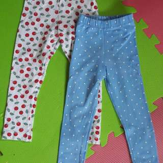 Discounted Stretch Leggings For 2-4 Years Old