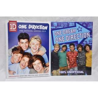 2x One Direction Books - *BRAND NEW*