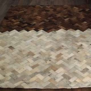 Price Reduced! Grand Full Leather Carpet For Sale!