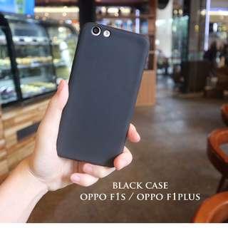 black doff case untuk oppo f1s dan oppo f1plus