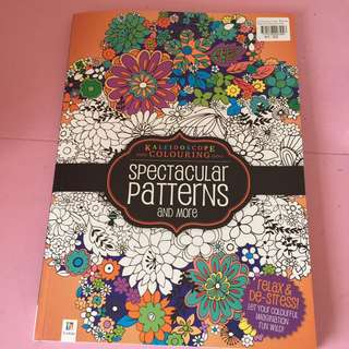 Kaleidoscope Colouring Spectacular Patterns And More