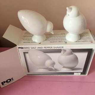 PO: Bird Salt And Pepper Shaker
