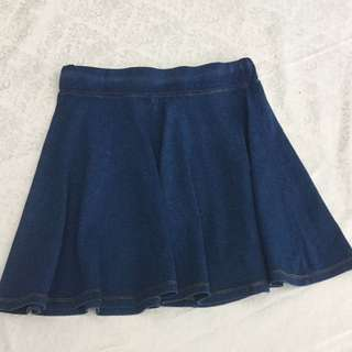 Supré Denim Skater Skirt Size M