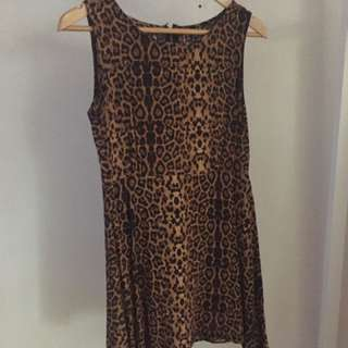 Small Leopard Print Dress Cotton on