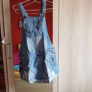 Jeans Short Jumpsuit