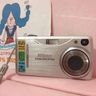 Camera Nikon CoolPix 3700 Silver