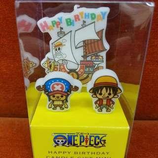 全新正版1set One Piece Birthday Candle