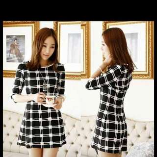Dress Checker Large Size