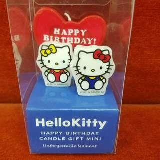 全新正版1set Hello Kitty Birthday Candle