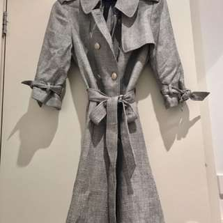 Long Tweed Over Coat From bread n butter 🌫