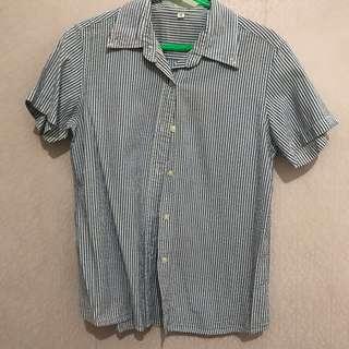 Stripes Blue Shirt