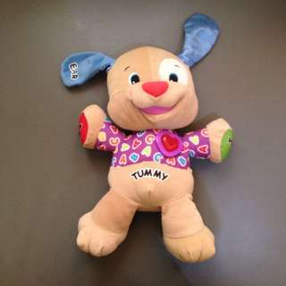 Fisher Price Laugh and Learn Love to play Puppy