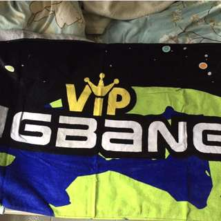 BIGBANG ALIVE TOUR 周邊毛巾