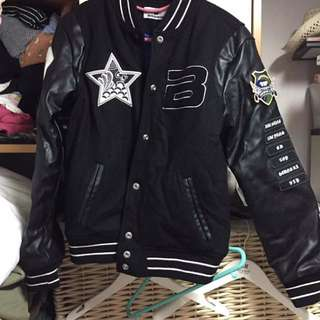 BIGBANG 官方棒球褸 黑色 細碼 SIZE S