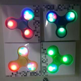 Cheap Figet Spinner Plain Camo Light Up design
