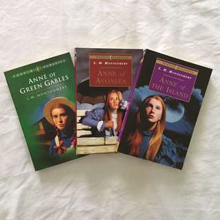 Anne of Green Gables trilogy set