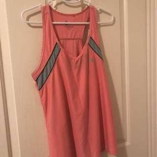 Women's Pink Gym Top