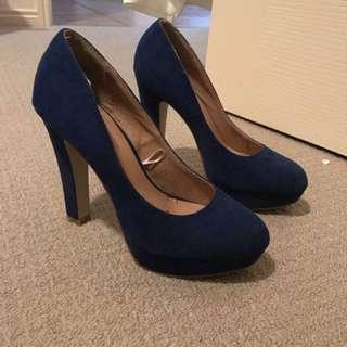 Ladies Blue High Heels