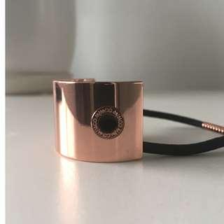 Mimco Rose Gold Ponytail Cuff