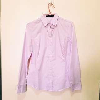 Lavender Collar Blouse Size S