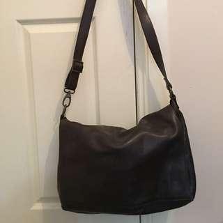 Wittner Leather Book Bag