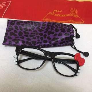 ‼️可愛‼️凱蒂貓眼鏡