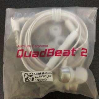 Genuine LG QuadBeat 2 Earphone