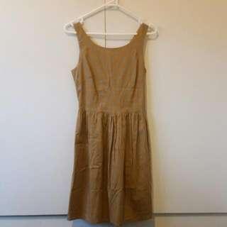 Size 6 Princess Highway Mustard Smock Dress