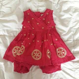 SET 2pcs 0-3mos Baby Clothes