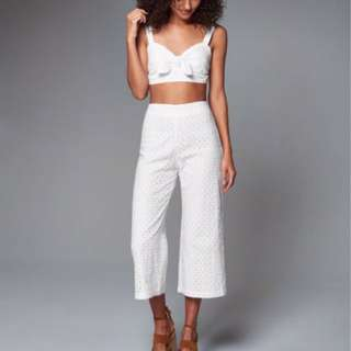 Abercrombie & Fitch A&F Wide Leg Culottes Pants #summer40