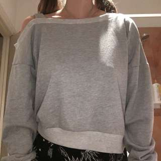 Oversize Cropped Sweater