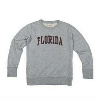 Champion Crewneck Sweatshirt Florida Grey Original / Sweater Champion