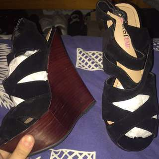 Brand New With Box Wedges
