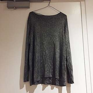VINTAGE Metallic Lurex Jumper