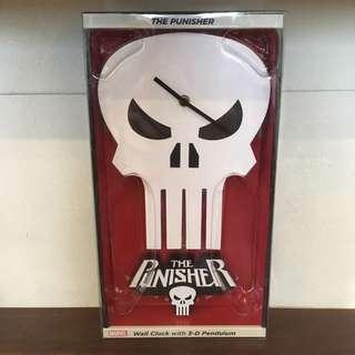稀有品 Marvel 制裁者 擺動掛鐘 時鐘 the punisher clock. NJCrice