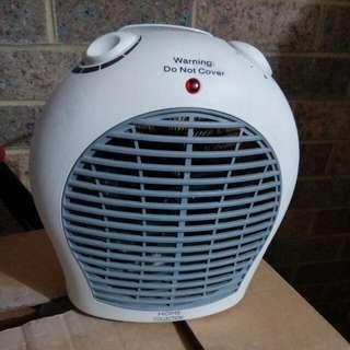 small upright fan/heater