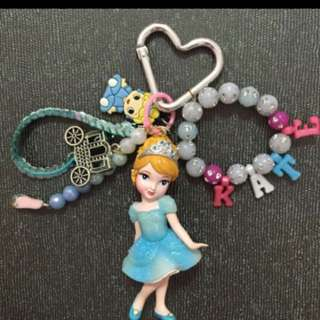 Princesses keychain or bagcharms perfect for parties or customized bags