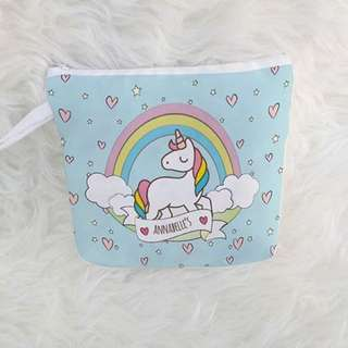 PERSONALISED POUCH - Unicorn