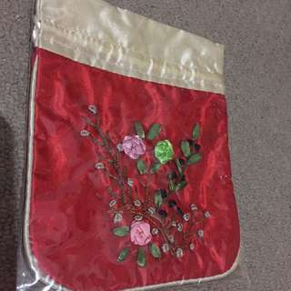 Asian style cosmetic bags