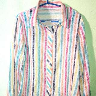 Stripped Long Sleeve for Woman