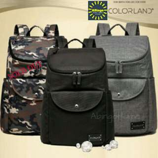 COLORLAND (UK) NAPPY BACKPACK  (FOR DADDY)