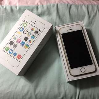 I Phone 5s - Hardly Used URGENT SALE PLEASE!!