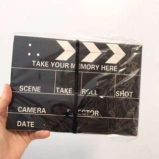 Director Film Sketchbook Album
