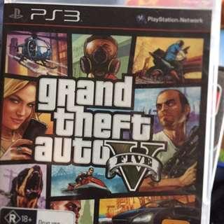 GTA 5 PS3 Game
