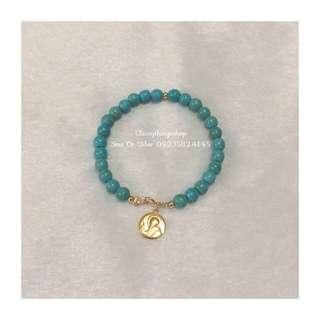 Authentic Turquoise Bracelet W/ St. Benedict
